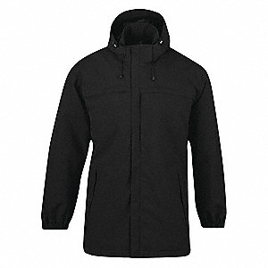 Parka Jacket,2XL,Black,Outwear