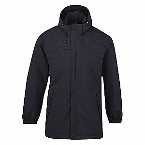 Parka Jacket,L,LAPD Navy,6.5 oz.