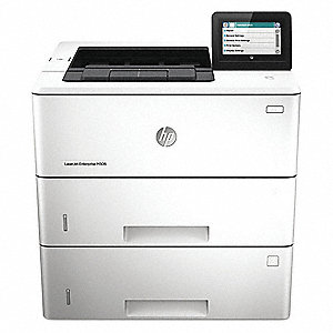 Laser Printer,Black/White,19 in. H