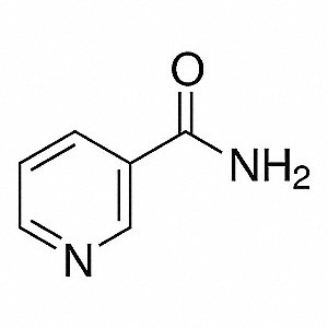 Niacinamide,Contains 1g,CAS 98-92-0