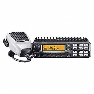 Mobile Two Way Radio, 450 to 512 MHz Frequency, UHF, 50 Output Watts, 512 Number of Channels