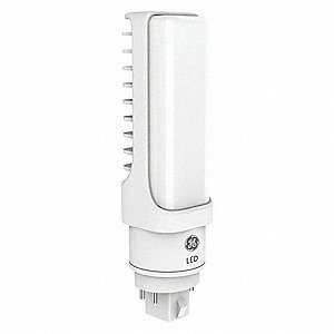 9.0 Watts LED Lamp, PL Horizontal, 4-Pin (G24Q/GX24), 1200 Lumens, 4000K Bulb Color Temp.