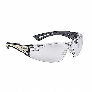 f7e461963c2a BOLLE SAFETY Rush+ Glow Anti-Fog, Scratch-Resistant Safety Glasses , Clear  Lens Color - 464D70|40292 - Grainger