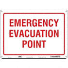 Emergency Evacuation Point Signs