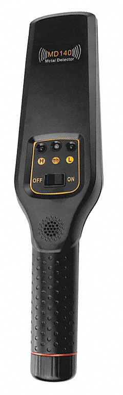 Metal Detector,  1 1/2 in Scan Depth (In.),  25,000 Operating Frequency (Hz)