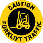 Caution Forklift Traffic Floor Signs