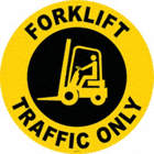 Forklift Traffic Only Floor Signs