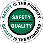 Safety / Quality Floor Signs