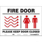 Fire Door Please Keep Door Closed Signs