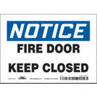 Notice: Fire Door Keep Closed Signs