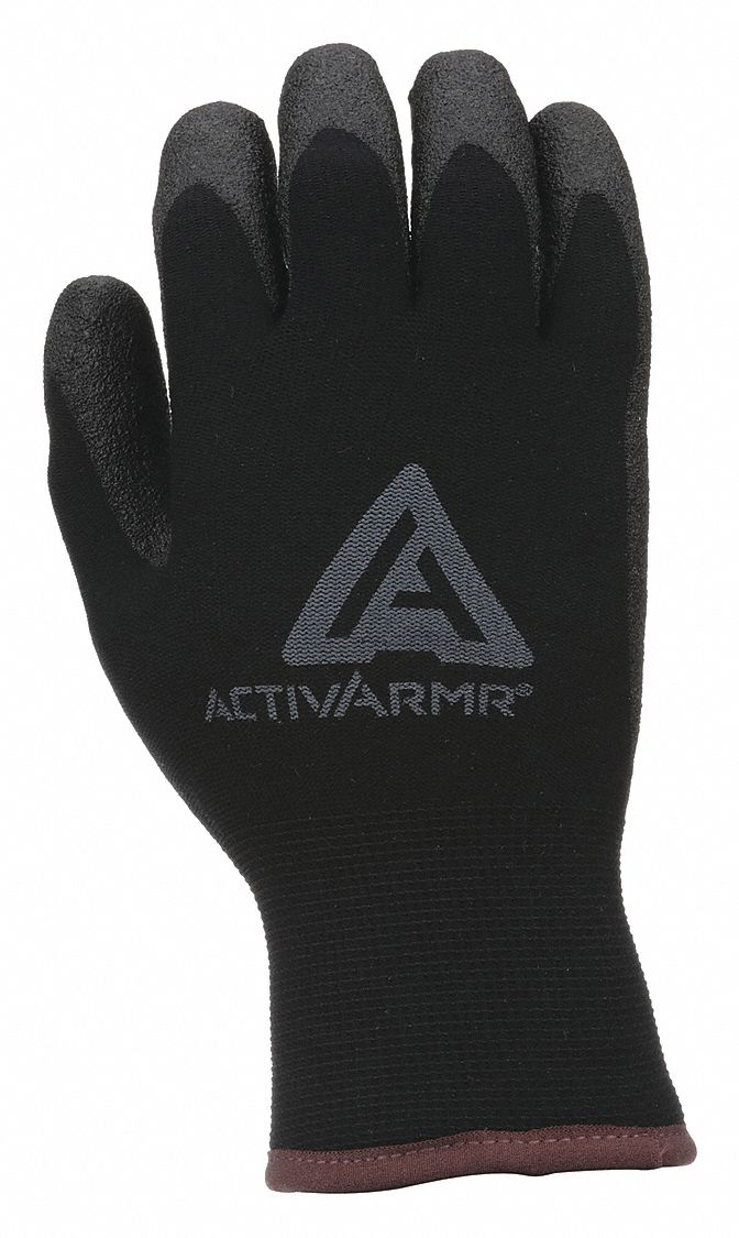 Knit Gloves,  A2 ANSI/ISEA Cut Level,  3 ANSI/ISEA Abrasion Level,  Nylon,  1 PR