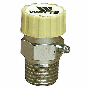 Automatic Vent For Hot Water,1/8In,Brass