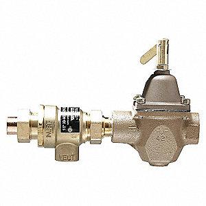 Watts 8 1 2 X 5 1 4 Boiler Feed Valve W Backflow Preventer Fnpt X Sweat Union 46a968 911s