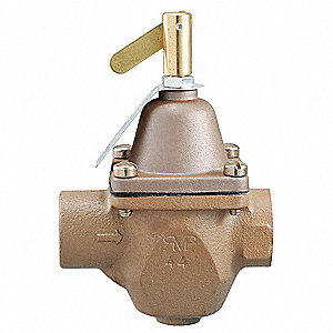 Pressure Regulator,1/2 In,10 to 25 psi