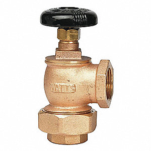 Radiator Supply Valve,Angle,3/4 In