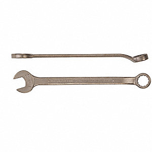 8mm, Combination Wrench, Metric, Natural Finish, Number of Points: 12
