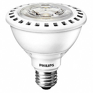 12.0 Watts LED Lamp, PAR30S, Medium Screw (E26), 800 Lumens, 3000K Bulb Color Temp.