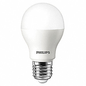 10.5 Watts Soft White A19 LED Lamp, 800 Lumens