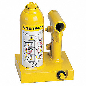"3-3/4 x 4-3/8"" Standard Steel Bottle Jack with 2 tons Lifting Capacity"