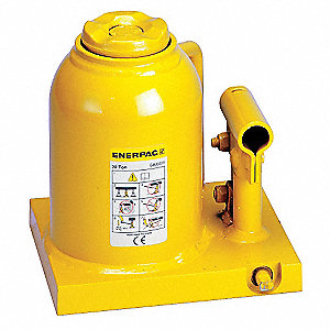 "5 x 6-3/4"" Short Stroke Steel Bottle Jack with 20 tons Lifting Capacity"