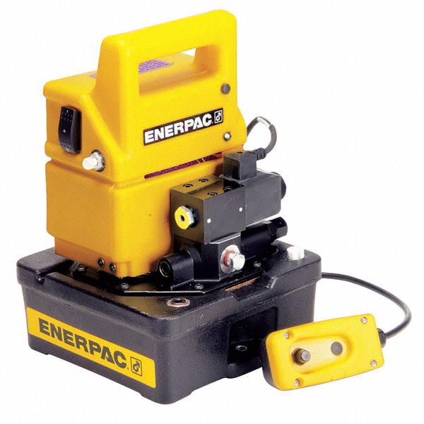 Enerpac Hydraulic Pump With Dump Control Valve - 46c555