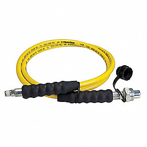 Hydraulic Hose,Thermoplastic,1/4,6 Ft