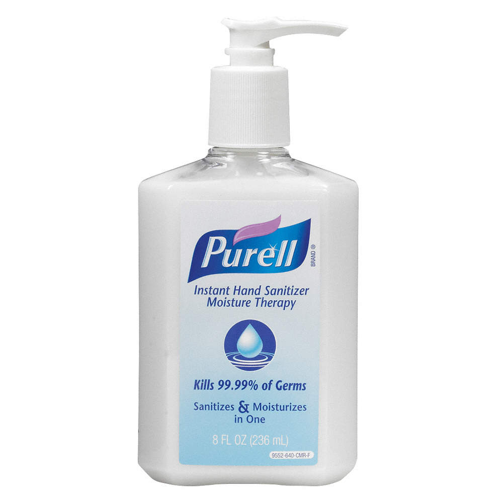 PURELL 8 oz , Pump Bottle, None - 46C644|9552-12 - Grainger