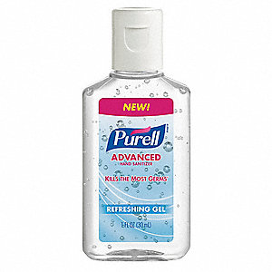 1 oz. Hand Sanitizer Bottle, 250 PK