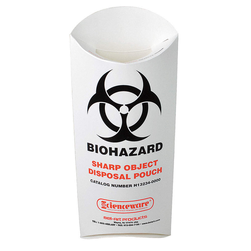 Sp scienceware biohazard sharp object pouchpk200 46c828h13234 zoom outreset put photo at full zoom then double click buycottarizona Choice Image
