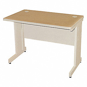 "Rectangle Training Table, Oak, 42""W x 24"" Depth"