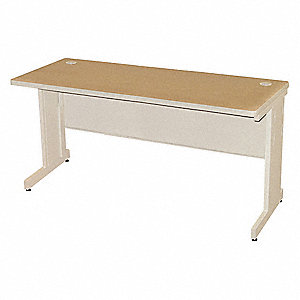 "Rectangle Training Table, Oak, 72""W x 24"" Depth"