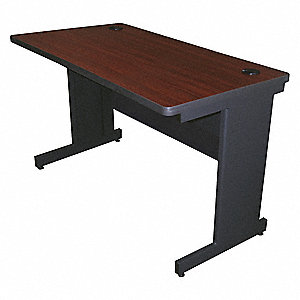 "Rectangle Training Table, Mahogany, 48""W x 30"" Depth"