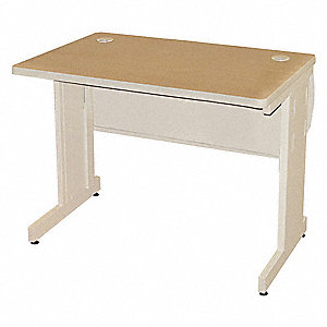 "Rectangle Training Table, Oak, 36""W x 30"" Depth"