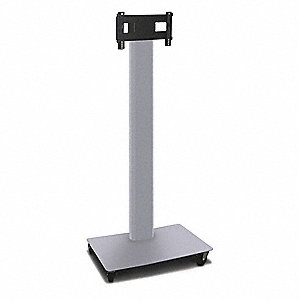 TV/Monitor Stand,36in.Wx80in.H,Steel