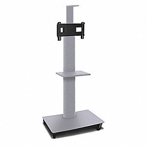 TV/Monitor Stand,36in.W,Steel