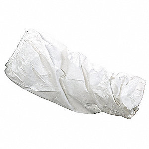 Chem Resist Sleeves,White,21.5 in,PK300