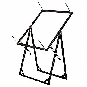 Work Stand,Adjusts to Any Angle,Gray