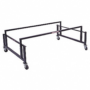 Pick-Up Bed Dolly,Silver,Aluminum