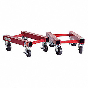 Auto Dolly,10 In. W x 12 In. L,PR