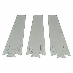 Blade Set of 3,60 In Straight