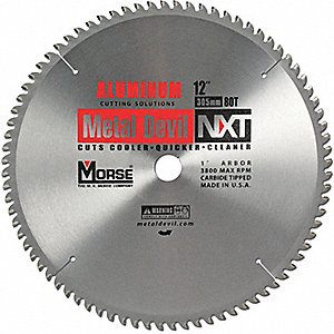 CIRC BLADE 12 80T FOR ALUMINUM