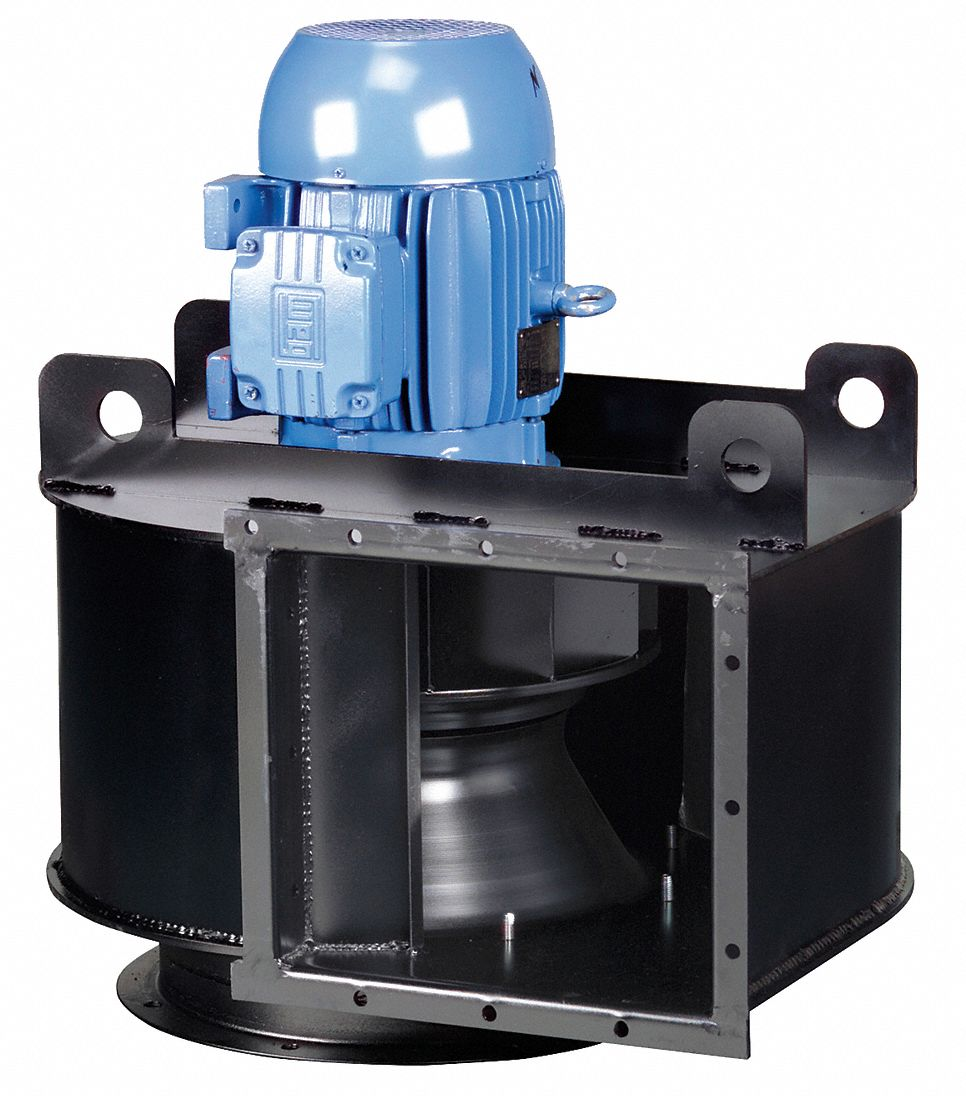 CHICAGO BLOWER High Pressure Blower,3 Phase,20 HP - 46E333|182-20HP ...