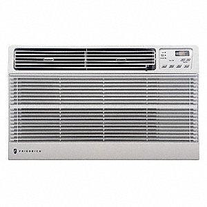115 Wall Air Conditioner, 8000 BtuH Cooling, White, Includes: Remote Control,  Universal Trim Ring K