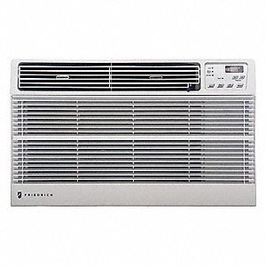 115 Wall Air Conditioner, 9800 BtuH Cooling, White, Includes: Remote Control,  Universal Trim Ring K