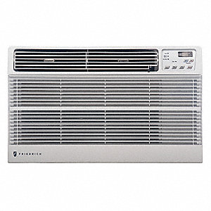 115 Wall Air Conditioner, 11,500 BtuH Cooling, White, Includes: Remote Control,  Universal Trim Ring