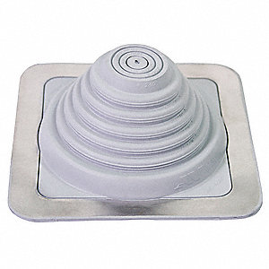 Pipe Roof Flashing,1/4 to 5-3/4