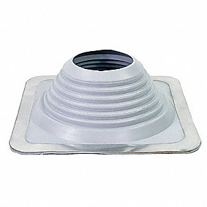 Pipe Roof Flashing,6-3/4 to 13-1/2