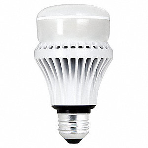 7.5 Watts LED Lamp, A19, Medium Screw (E26), 450 Lumens, 2700K Bulb Color Temp.