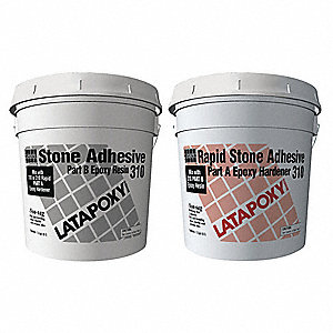 Natural Rapid Stone Adhesive, 0.26 gal. Size, Coverage: 5 to 10 sq. ft.