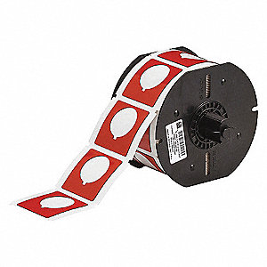 BBP31 ADHESIVE TAPE POLYESTER RED